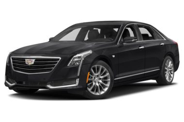 3/4 Front Glamour 2018 Cadillac CT6