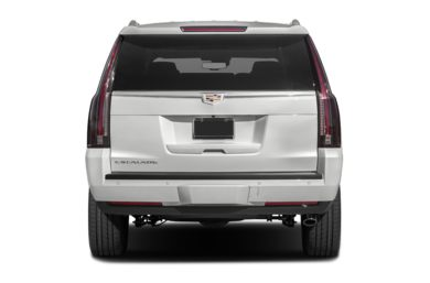 Rear Profile  2016 Cadillac Escalade ESV