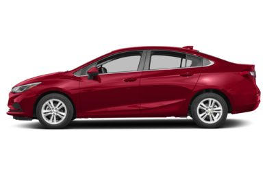 90 Degree Profile 2016 Chevrolet Cruze