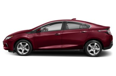 90 Degree Profile 2017 Chevrolet Volt