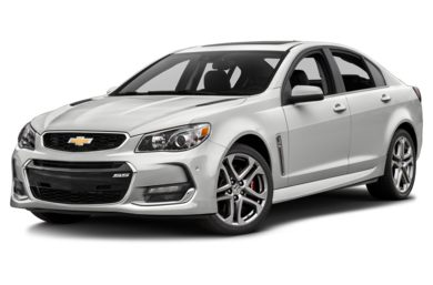 3/4 Front Glamour 2017 Chevrolet SS