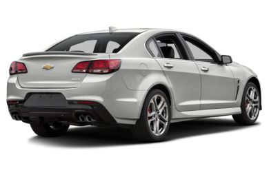 3/4 Rear Glamour  2017 Chevrolet SS