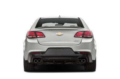 Rear Profile  2016 Chevrolet SS