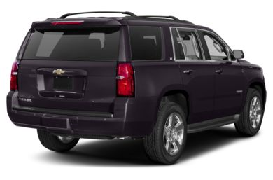 3/4 Rear Glamour  2015 Chevrolet Tahoe