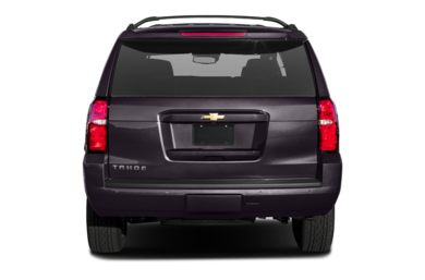 Rear Profile  2015 Chevrolet Tahoe