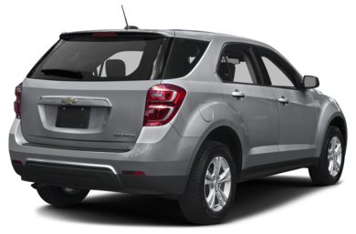 3/4 Rear Glamour  2016 Chevrolet Equinox