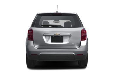 Rear Profile  2017 Chevrolet Equinox