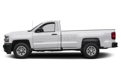 90 Degree Profile 2017 Chevrolet Silverado 1500