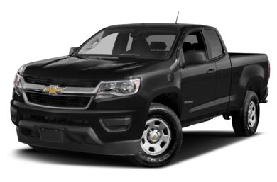 3/4 Front Glamour 2016 Chevrolet Colorado