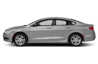 90 Degree Profile 2015 Chrysler 200