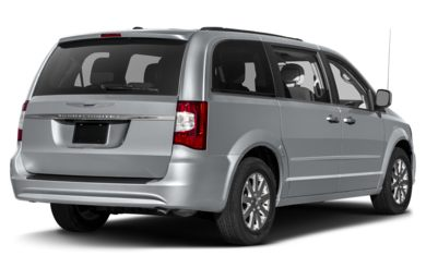 3/4 Rear Glamour  2014 Chrysler Town & Country
