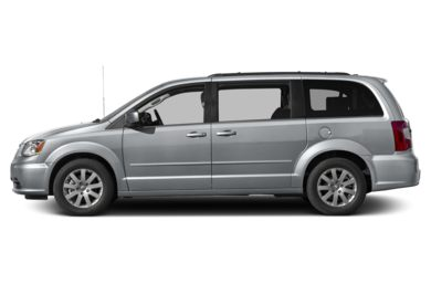 90 Degree Profile 2014 Chrysler Town & Country