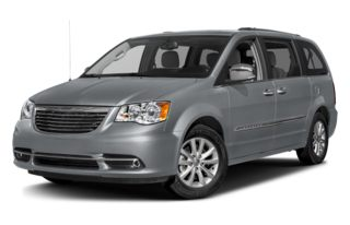 3/4 Front Glamour 2015 Chrysler Town & Country