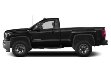 90 Degree Profile 2016 GMC Sierra 1500