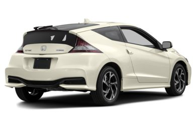 3/4 Rear Glamour  2016 Honda CR-Z