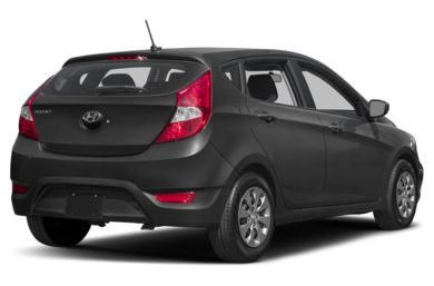 3/4 Rear Glamour  2017 Hyundai Accent