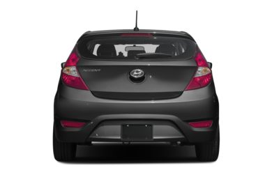 Rear Profile  2017 Hyundai Accent