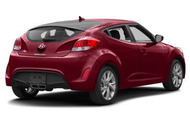 3/4 Rear Glamour  2016 Hyundai Veloster