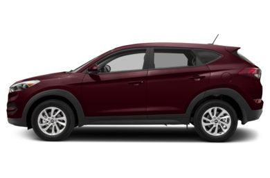 90 Degree Profile 2017 Hyundai Tucson