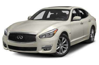 3/4 Front Glamour 2017 INFINITI Q70h