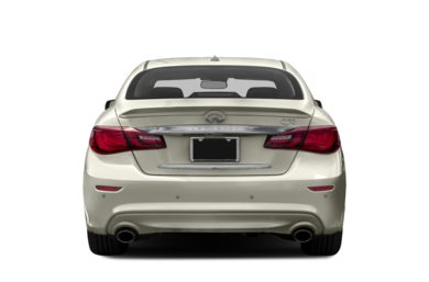 Rear Profile  2017 INFINITI Q70h