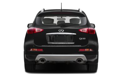 Rear Profile  2017 Infiniti QX50