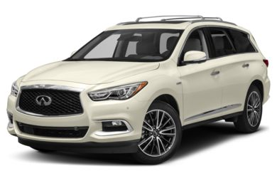 3/4 Front Glamour 2017 INFINITI QX60 Hybrid