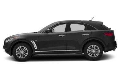 90 Degree Profile 2017 Infiniti QX70