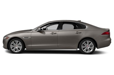 90 Degree Profile 2018 Jaguar XF