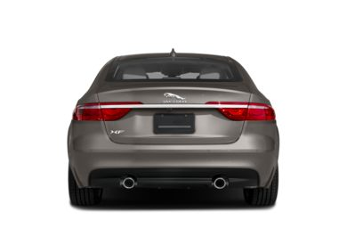 Rear Profile  2018 Jaguar XF