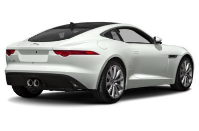 3/4 Rear Glamour  2017 Jaguar F-TYPE
