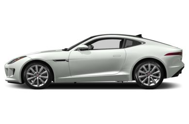 90 Degree Profile 2017 Jaguar F-TYPE