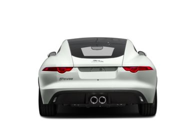 Rear Profile  2017 Jaguar F-TYPE