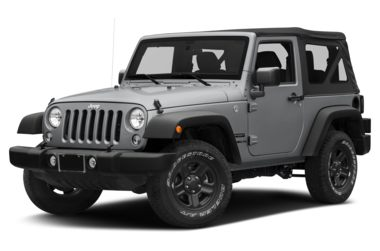 3/4 Front Glamour 2017 Jeep Wrangler