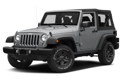 3/4 Front Glamour 2014 Jeep Wrangler