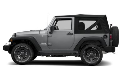 90 Degree Profile 2014 Jeep Wrangler