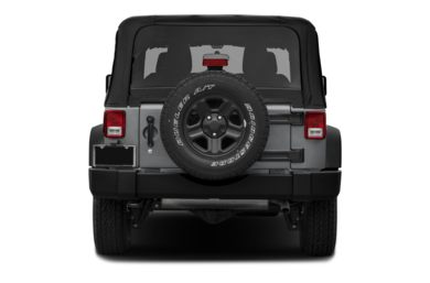 Rear Profile  2014 Jeep Wrangler