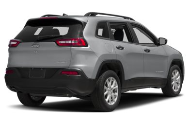 3/4 Rear Glamour  2017 Jeep Cherokee