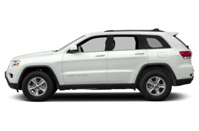 90 Degree Profile 2014 Jeep Grand Cherokee
