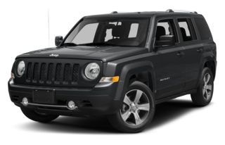 3/4 Front Glamour 2014 Jeep Patriot