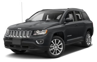 3/4 Front Glamour 2014 Jeep Compass