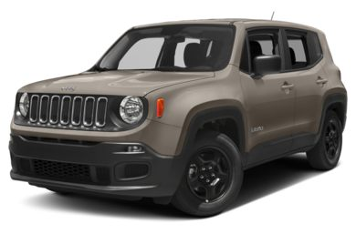 3/4 Front Glamour 2018 Jeep Renegade