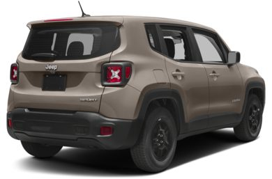 3/4 Rear Glamour  2017 Jeep Renegade