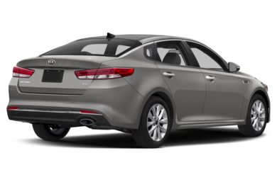 3/4 Rear Glamour  2017 Kia Optima