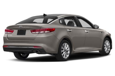 3/4 Rear Glamour  2016 Kia Optima