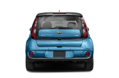 Rear Profile  2018 Kia Soul EV