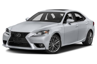 3/4 Front Glamour 2016 Lexus IS 300