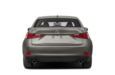 Rear Profile  2016 Lexus IS 200t