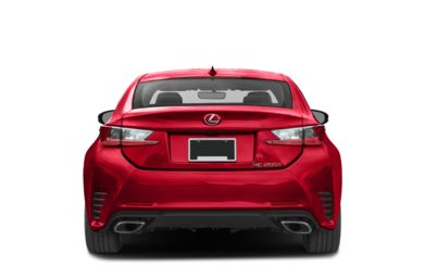Rear Profile  2017 Lexus RC 200t
