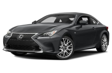 3/4 Front Glamour 2018 Lexus RC 300